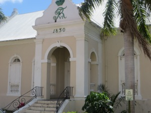 Lord God of Saboath Lutheran Church, Christiansted St. Croix where family members attended. Photo  by shelley dewese