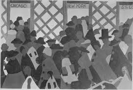 Great Migration Image by Jacob Lawrence