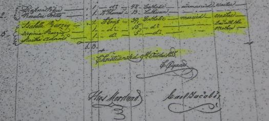 St. Croix Census 1855