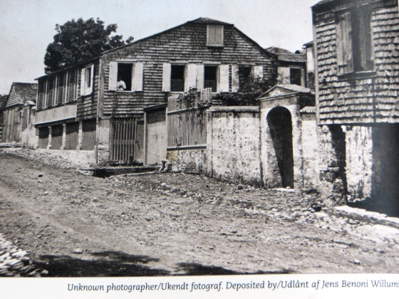 Hill Street Home of Peter and Hans Petersen where Nancy resided over 50 years.  Photo accessed from St. Croix Historic Photos/Rezende-Walbom/Danish West Indian Society